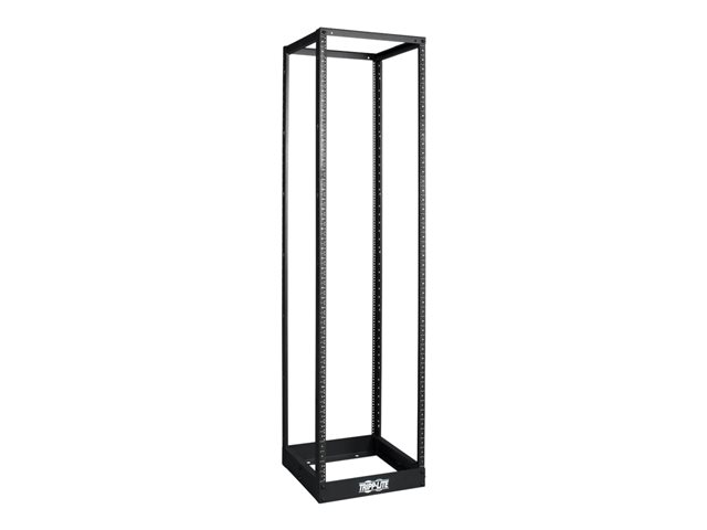 Tripp Lite 45U 4-Post Open Frame Rack Cabinet Square Holes 1000lb Capacity - rack ouvert - 45U