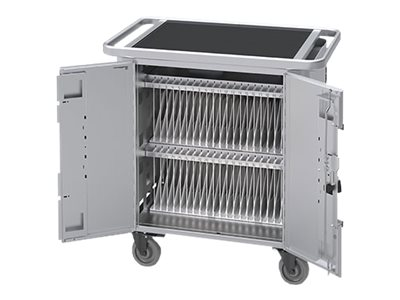 Bretford PureCharge Charging Cart Cart (charge only) for 40 tablets steel