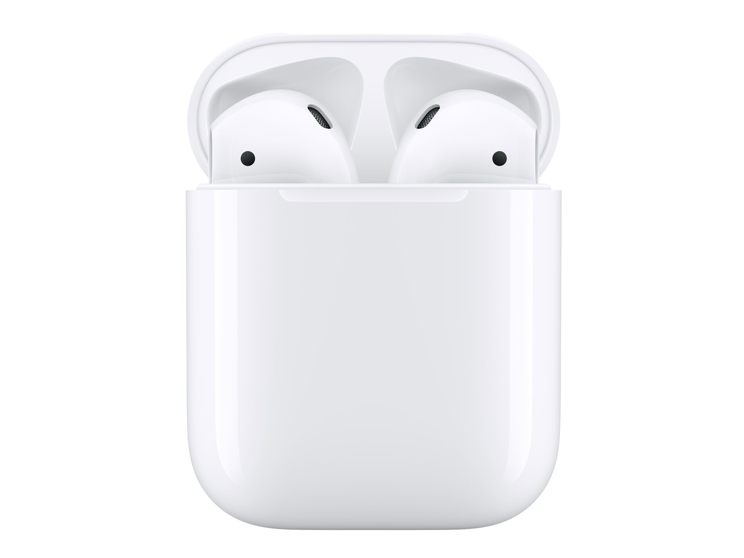 Apple AirPods with Charging Case - 2nd Generation - true wireless earphones with mic