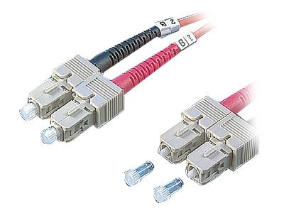 Roline - Patch-Kabel - SC multi-mode (M) bis SC multi-mode (M) - 1 m - Glasfaser - 62,5/125 Mikrometer