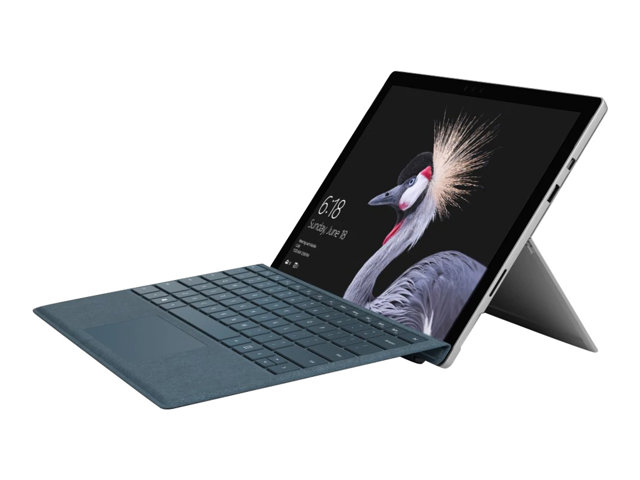 "Microsoft Surface Pro - Tablette - Core i5 7300U / 2.6 GHz - Win 10 Pro 64 bits - 16 Go RAM - 256 Go SSD - 12.3"" écran tactile 2736 x 1824 - HD Graphics 620 - Wi-Fi, Bluetooth - commercial"