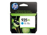 HP 935XL - High Yield - cyan - original - ink cartridge - for Officejet 6812, 6815, 6820; Officejet Pro 6230, 6230 ePrinter, 6830, 6835