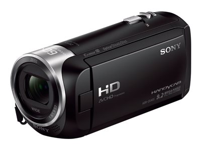 Sony Handycam HDR-CX405 Camcorder 1080p 2.51 MP 30x optical zoom Carl Zeiss