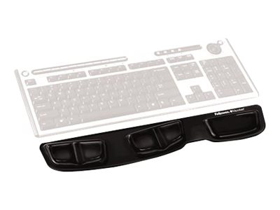 Fellowes Keyboard Palm Support keyboard platform with wrist pillow