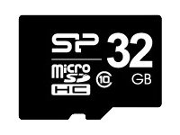 SILICON POWER - Flash-Speicherkarte - 16 GB - Class 10 - microSDHC
