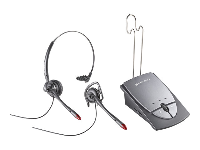 36784 01 Plantronics S12 Headset With Amplifier border=