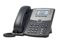 Cisco Small Business SPA 504G - VoIP phone - SIP, SIP v2, SPCP - multiline - silver, dark grey - for Small Business Pro Unified Communications 320 with 4 FXO
