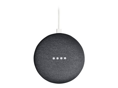 Mediaplayer Google Home mini Carbon