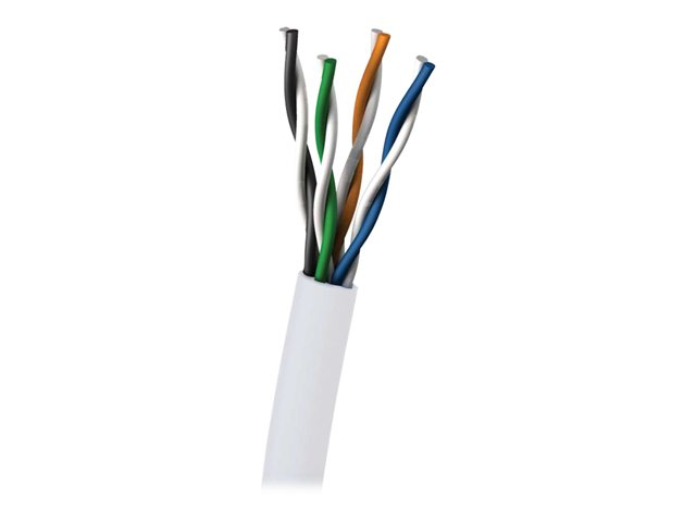 Image of C2G bulk cable - 305 m - white