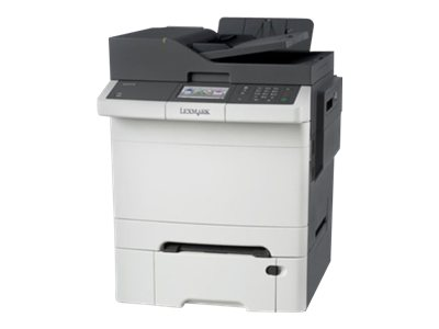 Lexmark CX410dte - Multifunktionsdrucker - Farbe - Laser - Legal (216 x 356 mm) (Original) - Legal (Medien)