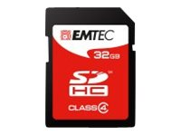 EMTEC Jumbo Super - Flash-Speicherkarte - 32 GB - Class 4 - SDHC