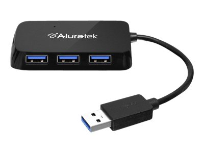 Aluratek AUH2304F Hub 4 x SuperSpeed USB 3.0 desktop