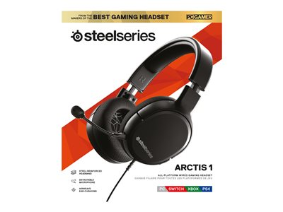 SteelSeries Arctis 1 Kabling Sort Headset