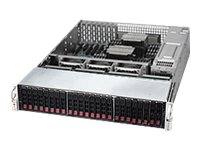 Supermicro SuperStorage Server 2028R-E1CR24N Server rack-mountable 2U 2-way RAM 0 MB
