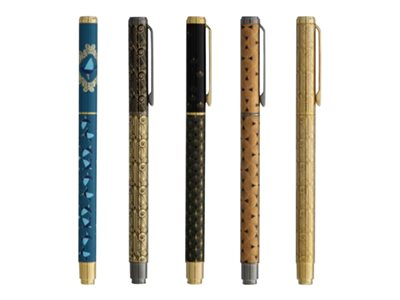 Stylos plumes fantaisie Ink Metal Retropical PLUMink - stylo plume