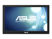 "ASUS MB168B - Écran LED - 15.6"" (15.6"" visualisable) - portable - 1366 x 768 - TN - 200 cd/m² - 11 ms - USB - Noir/argent"