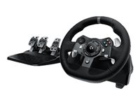 Logitech G920 Driving Force Wheel and pedals set wired for PC, Mic