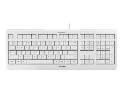 CHERRY KC 1000 Keyboard English US light gray