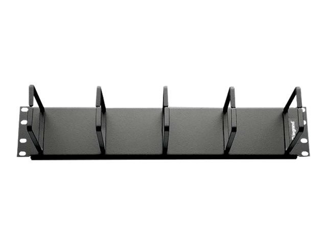 C2G 2U Horizontal Cable Management Panel with 5 D-Rings cable management panel - 2U
