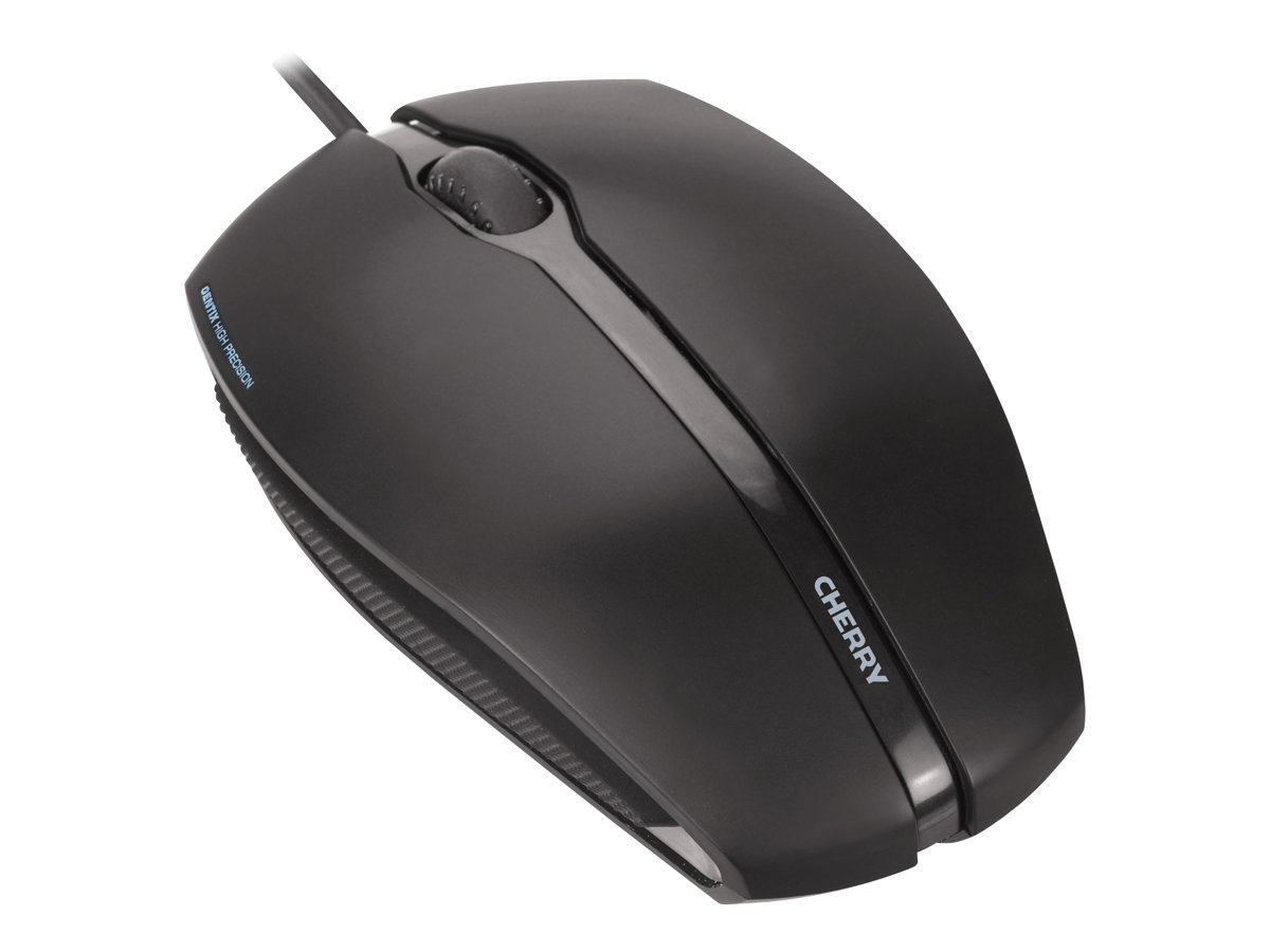 CHERRY GENTIX Illuminated - mouse - USB - black