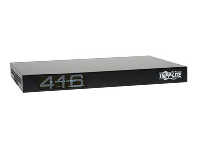 Tripp Lite 16-Port Cat5 IP KVM Switch 1 Local 4 Remote User 1URM Rackmount KVM switch CAT5
