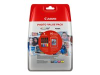 Canon CLI-551 C/M/Y/BK Photo Value Pack - 4er-Pack