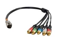 C2G RapidRun Component Video + Stereo Audio Flying Lead Video / audio cable