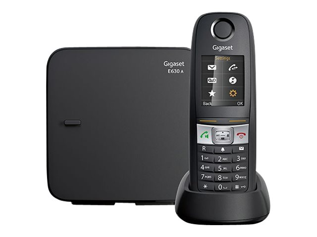 Image of Gigaset E630A - cordless phone - answering system with caller ID
