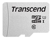Transcend 300S - Carte mémoire flash - 16 Go - UHS-I U1 / Class10 - microSDHC