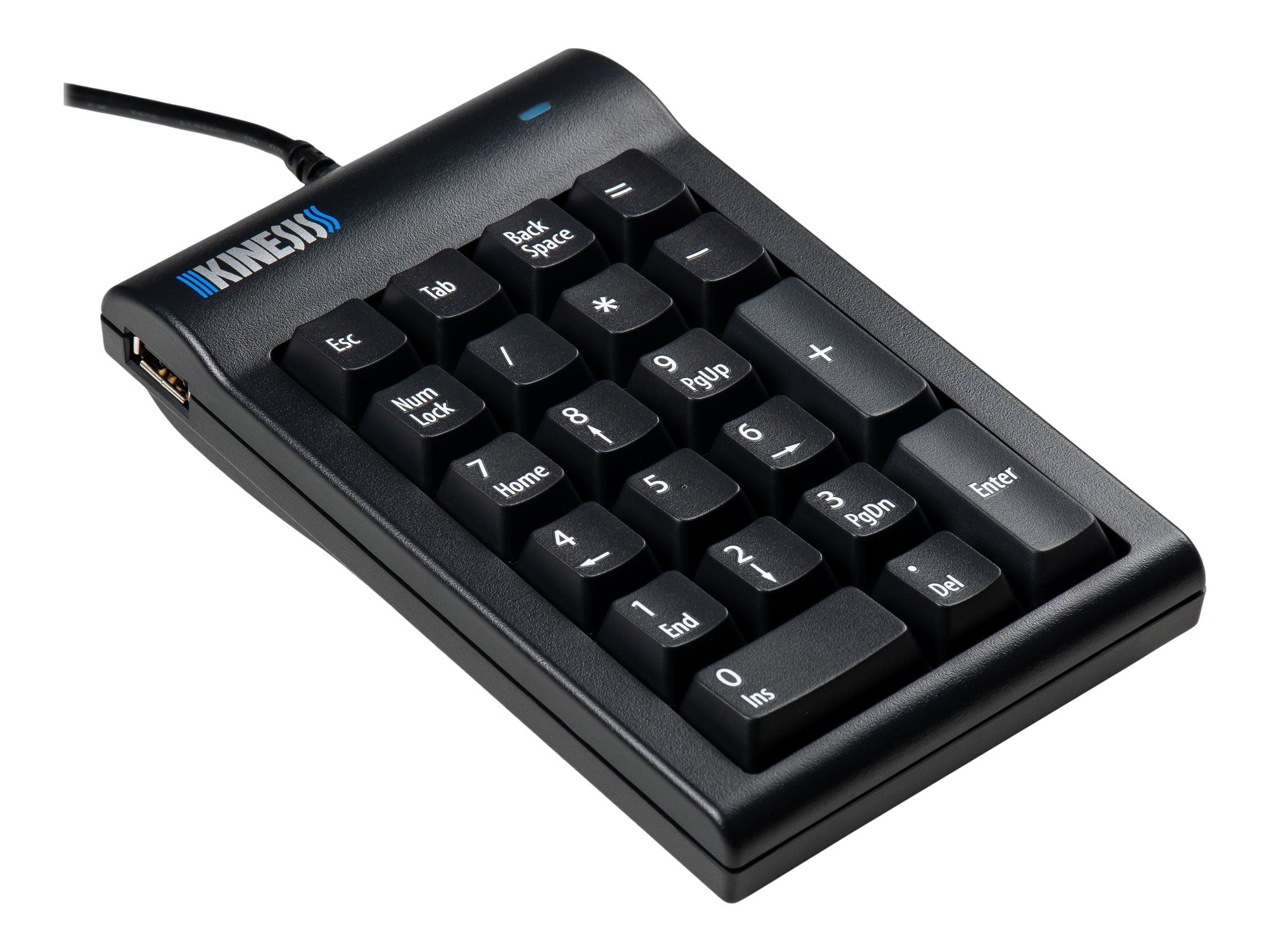 Kinesis Mechanical Keypad for PC - keypad - black