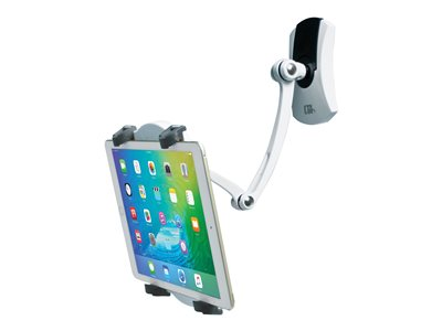 CTA Wall, Under Cabinet & Desk Mount Wall mount for tablet soft rubber