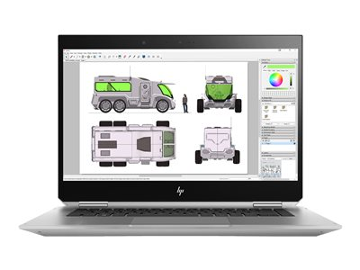 """HP ZBook Studio x360 G5 Mobile Workstation - 15.6"""" - Core i7 8850H - 16 GB RAM - 512 GB SSD - Norsk"""