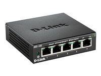 D-Link DES-105 5-Port Fast Ethernet Unmanaged Switch