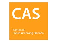 Barracuda Cloud Archiving Service Subscription license (3 years) 1 user volume