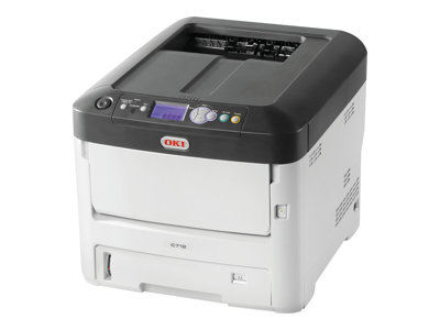 OKI C712dn Printer color Duplex LED A4 1200 x 600 dpi