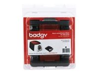 Badgy Black / monochrome print ribbon cassette for Badgy 100, 200