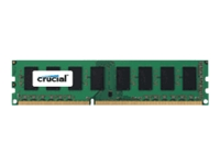 Crucial - DDR3L - 4 GB - DIMM 240-pin - 1600 MHz / PC3L-12800 - CL11 - 1.35 V - unbuffered - non-ECC