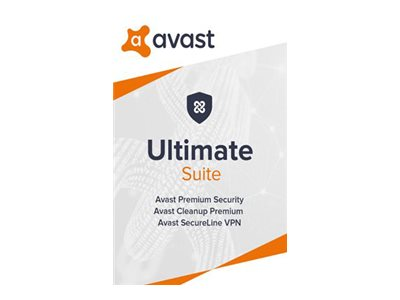 Avast Ultimate 2020 Subscription license (1 year) 10 PCs download Win