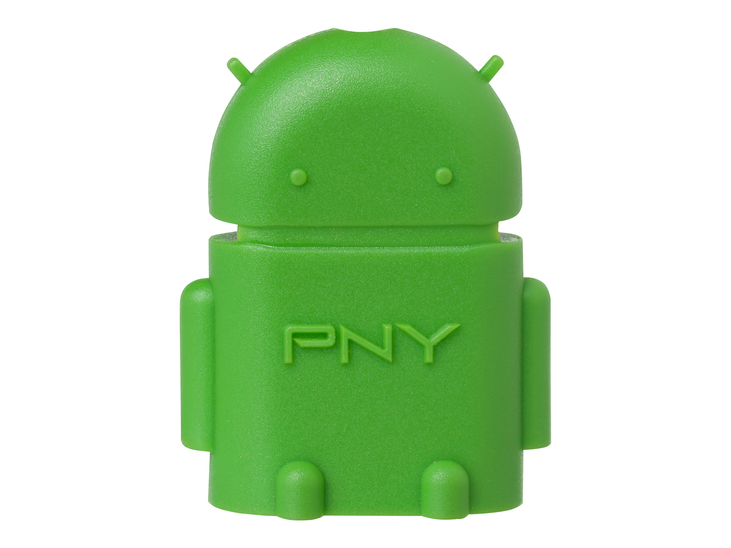 PNY OTG - Robot adapter - Datenadapter - USB (W) bis Micro-USB Type B (M)