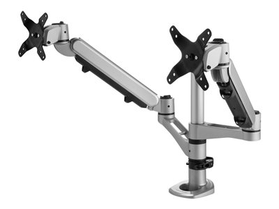 ViewSonic - Mounting kit for 2 LCD displays (adjustable arm) - screen size: up to 27