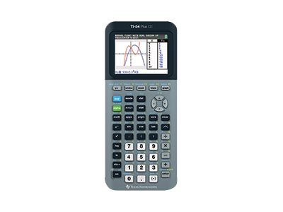 Texas Instruments TI-84 Plus CE Graphing calculator USB 10 digits + 2 exponents battery