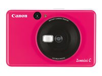 Canon Zoemini C - Appareil photo numérique - compact avec PhotoPrinter - 5.0 MP - rose chewing-gum