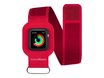 Twelve South ActionSleeve 38 mm Arm pack for smart watch red for Appl