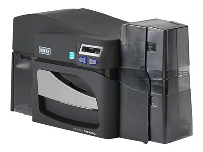 FARGO DTC4500e Plastic card printer color dye sublimation/thermal resin