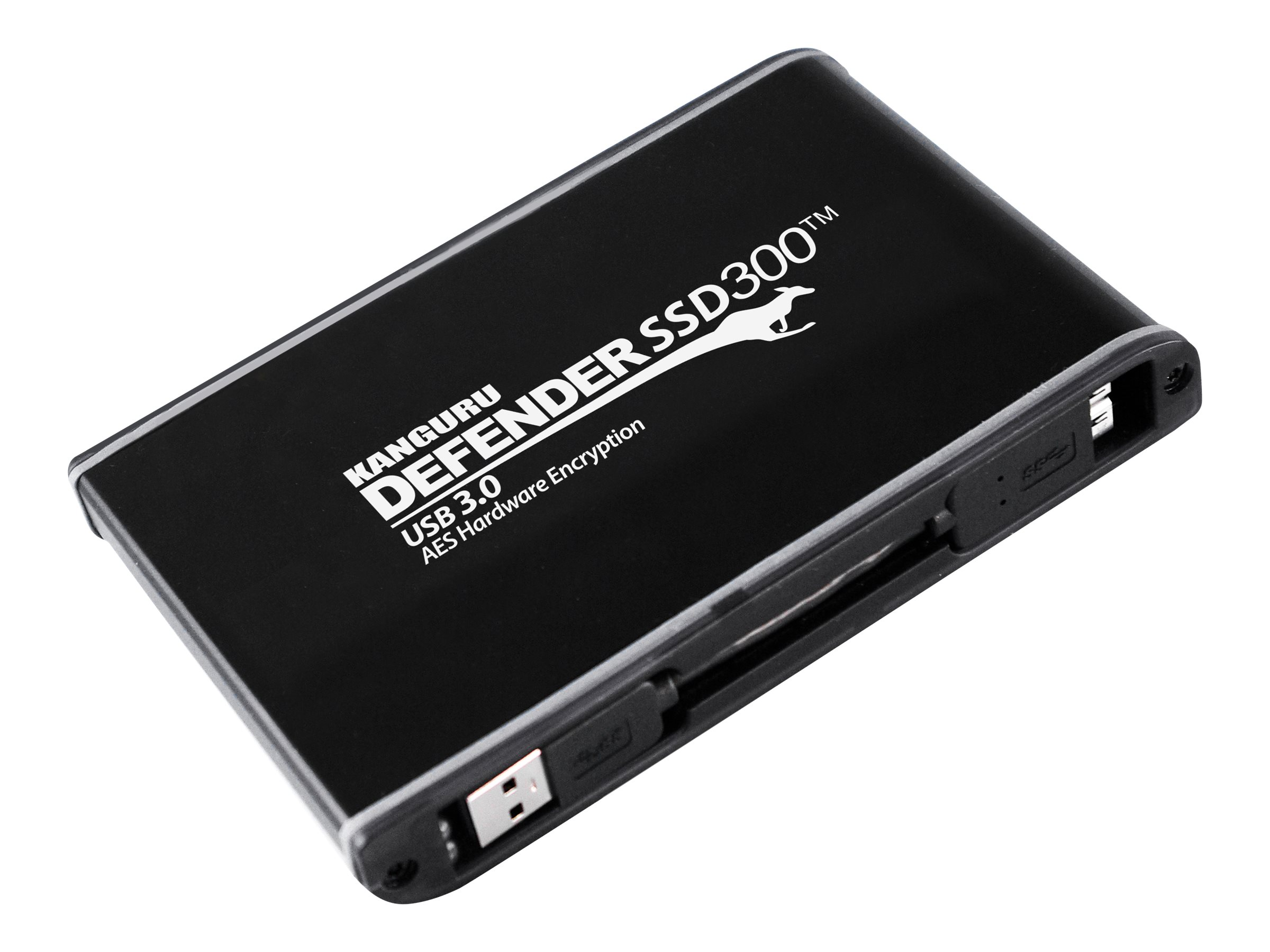 Kanguru Defender SSD300 FIPS Certified Hardware Encrypted - solid state drive - 2 TB - USB 3.0