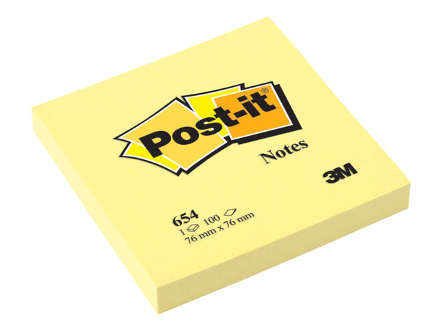 Image of Post-it 654 - notes