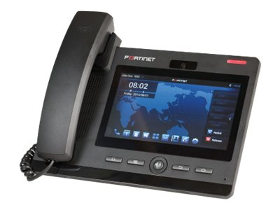 Fortinet FortiFone FON-670i - IP video phone - with digital camera - 3-way call capability