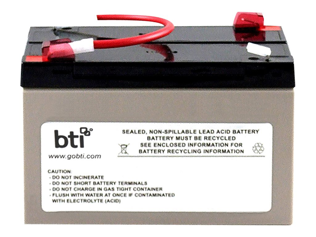 BTI Replacement Battery #3 for APC - UPS battery - lead acid