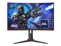 AOC Gaming C27G2ZU/BK 27' 1920 x 1080 HDMI DisplayPort 240Hz