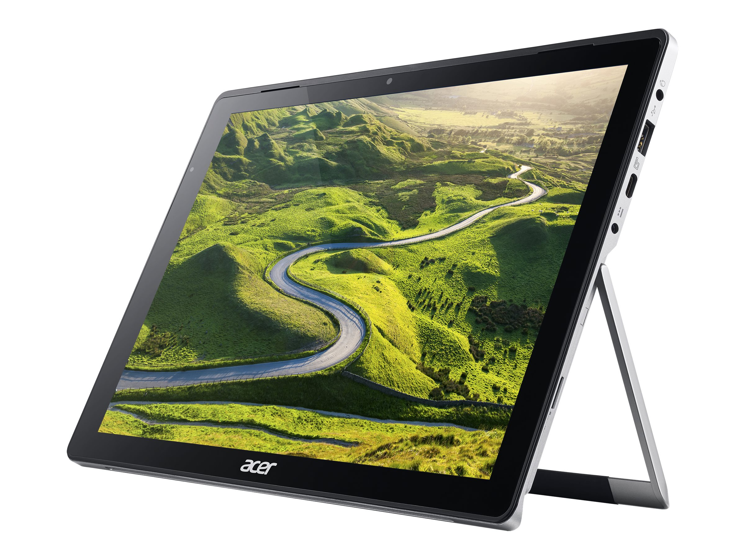 Acer Switch Alpha 12 SA5-271P-77ST - Tablet - mit abnehmbarer Tastatur - Core i7 6500U / 2.5 GHz - Win 10 Pro 64-Bit - 8 GB RAM
